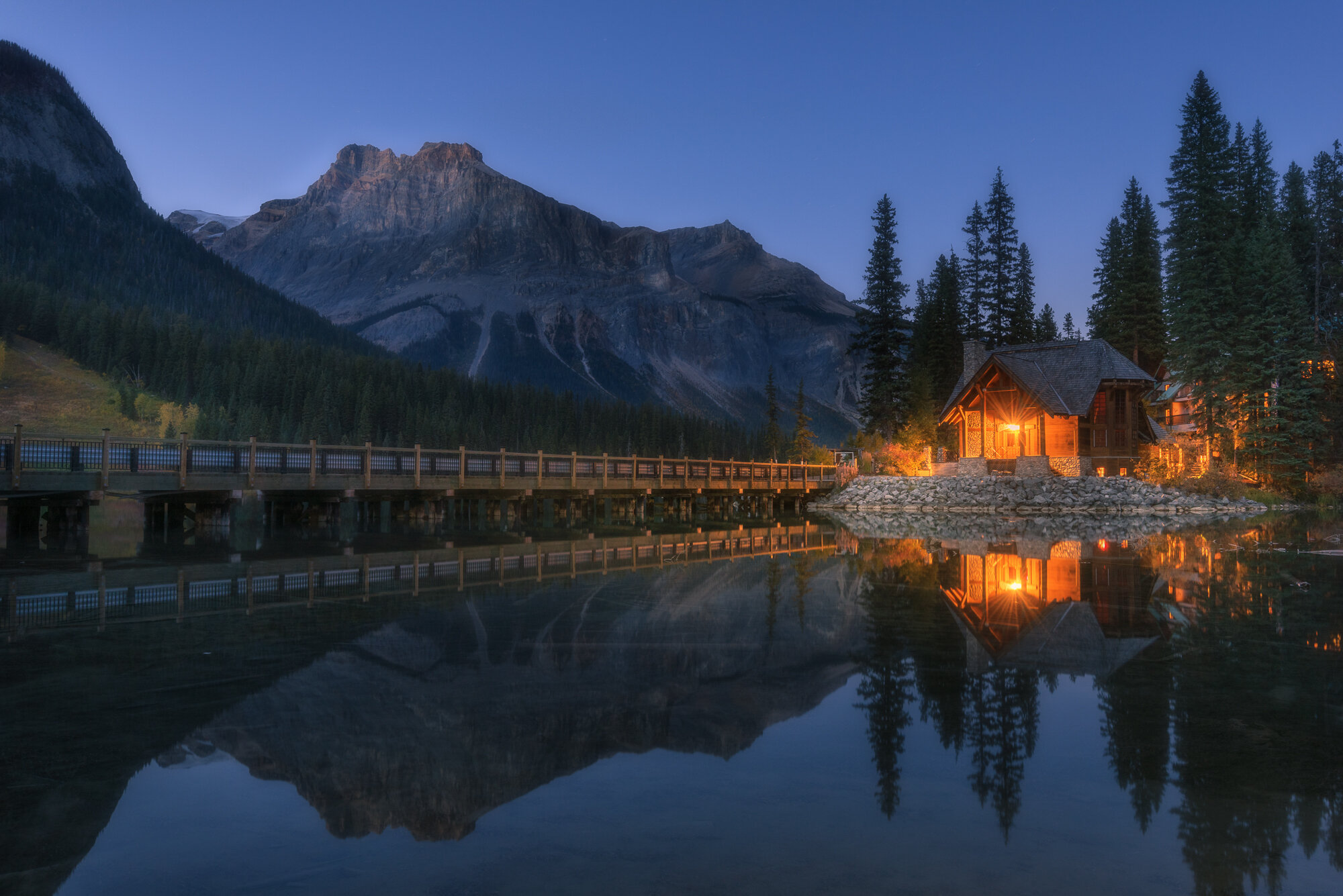 Canadian Rockies Photography: 'Emerald Lake Beauty'