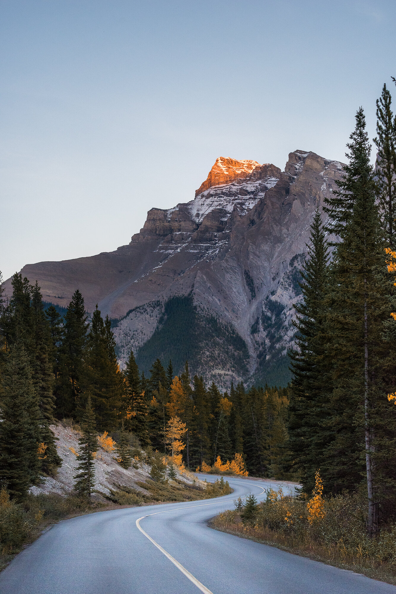 Banff Photography: 'Down the Winding Road'