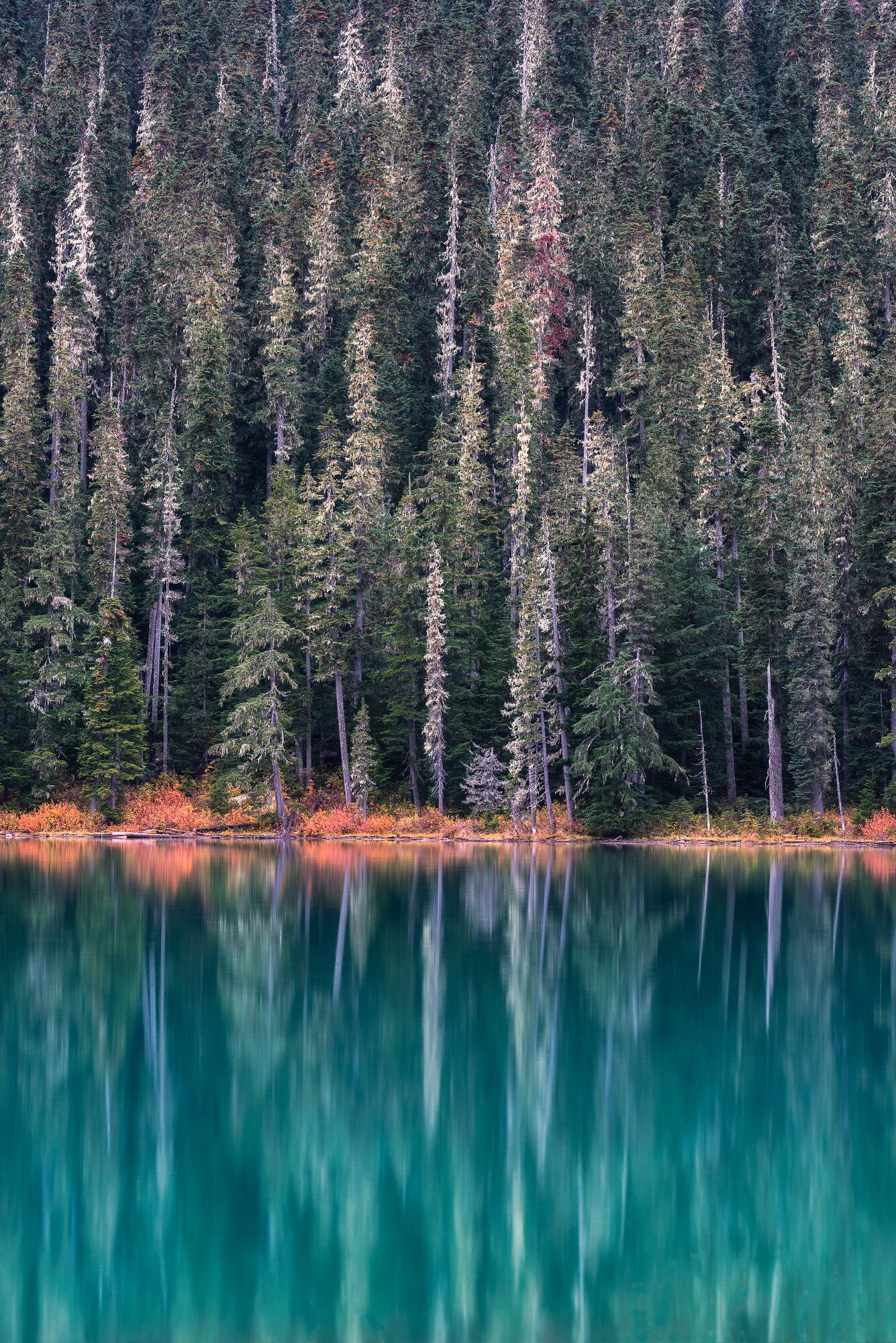 Fine Art Photography: 'Joffre Lakes Reflections'