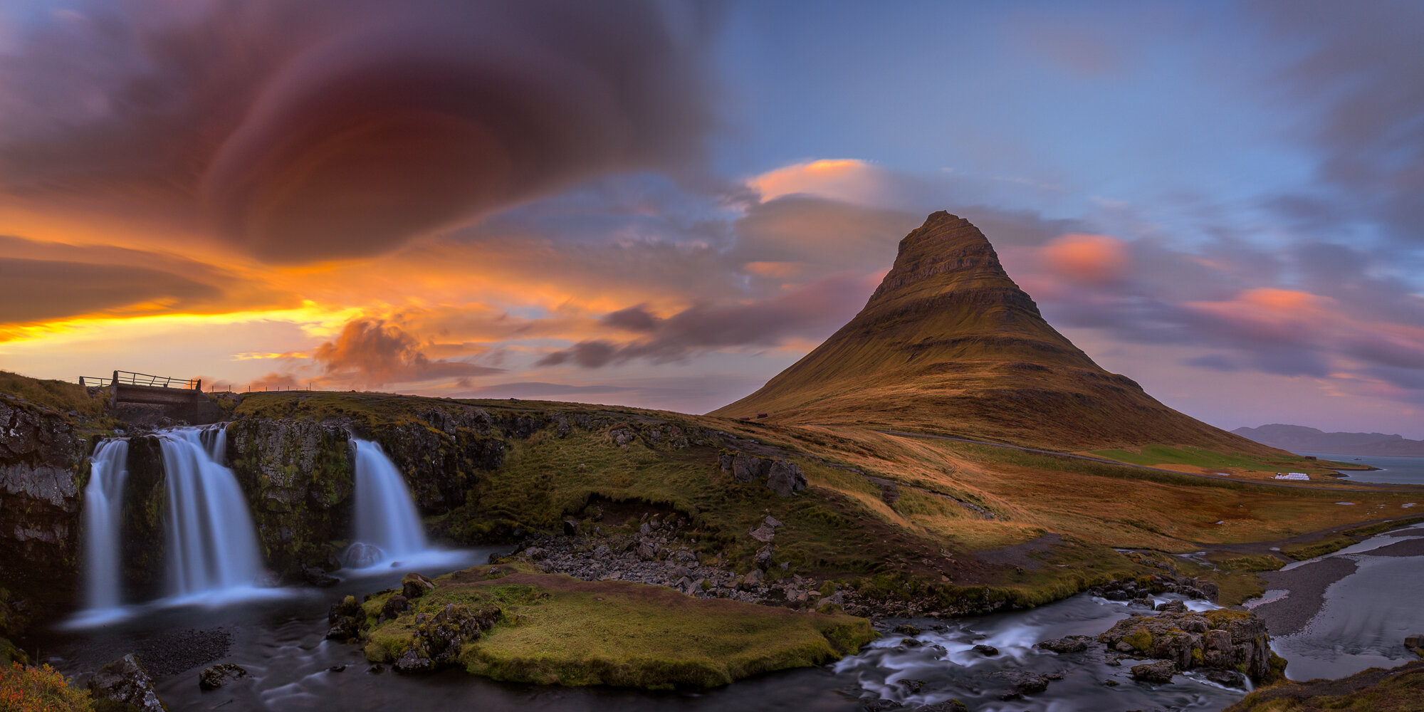 Iceland Landscape Photography: 'The Arrowhead - Kirkjufell'