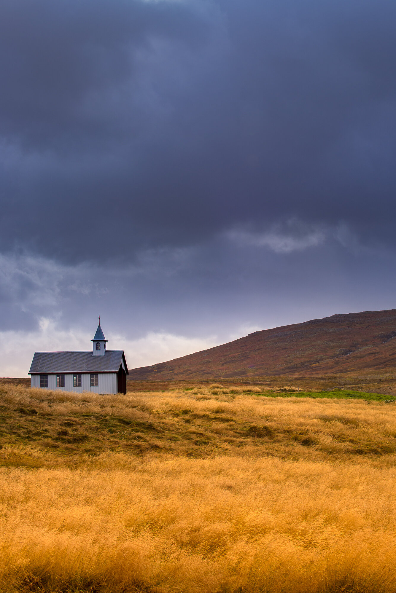 Iceland Landscape Photography: 'Golden Fields of Glory'
