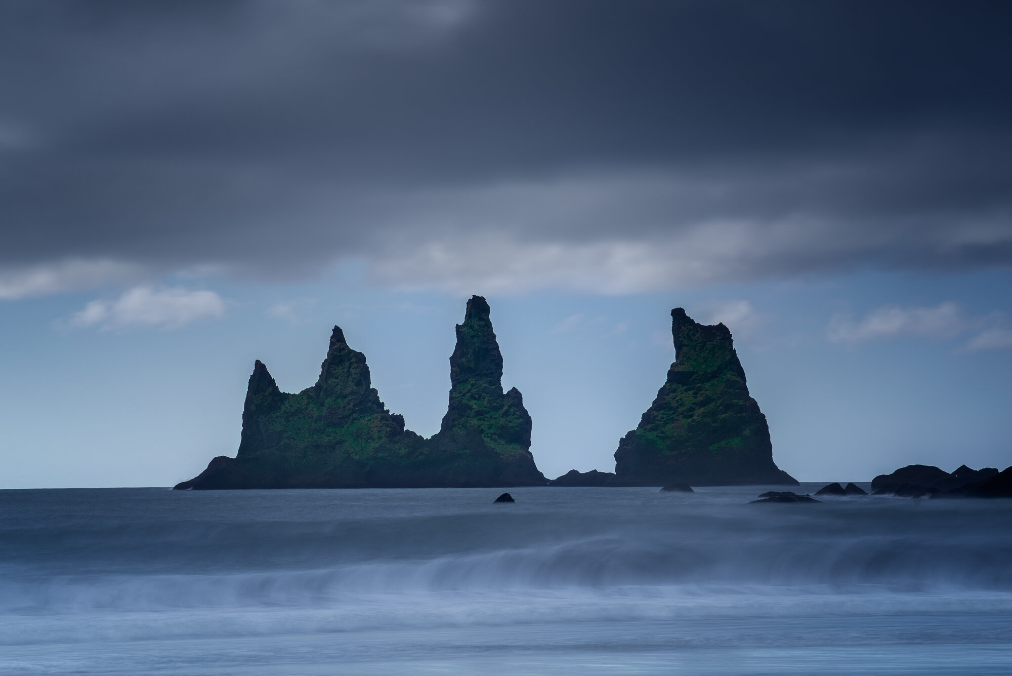 Iceland Long Exposure Landscape Photography: 'Vik Black Sand Beach'