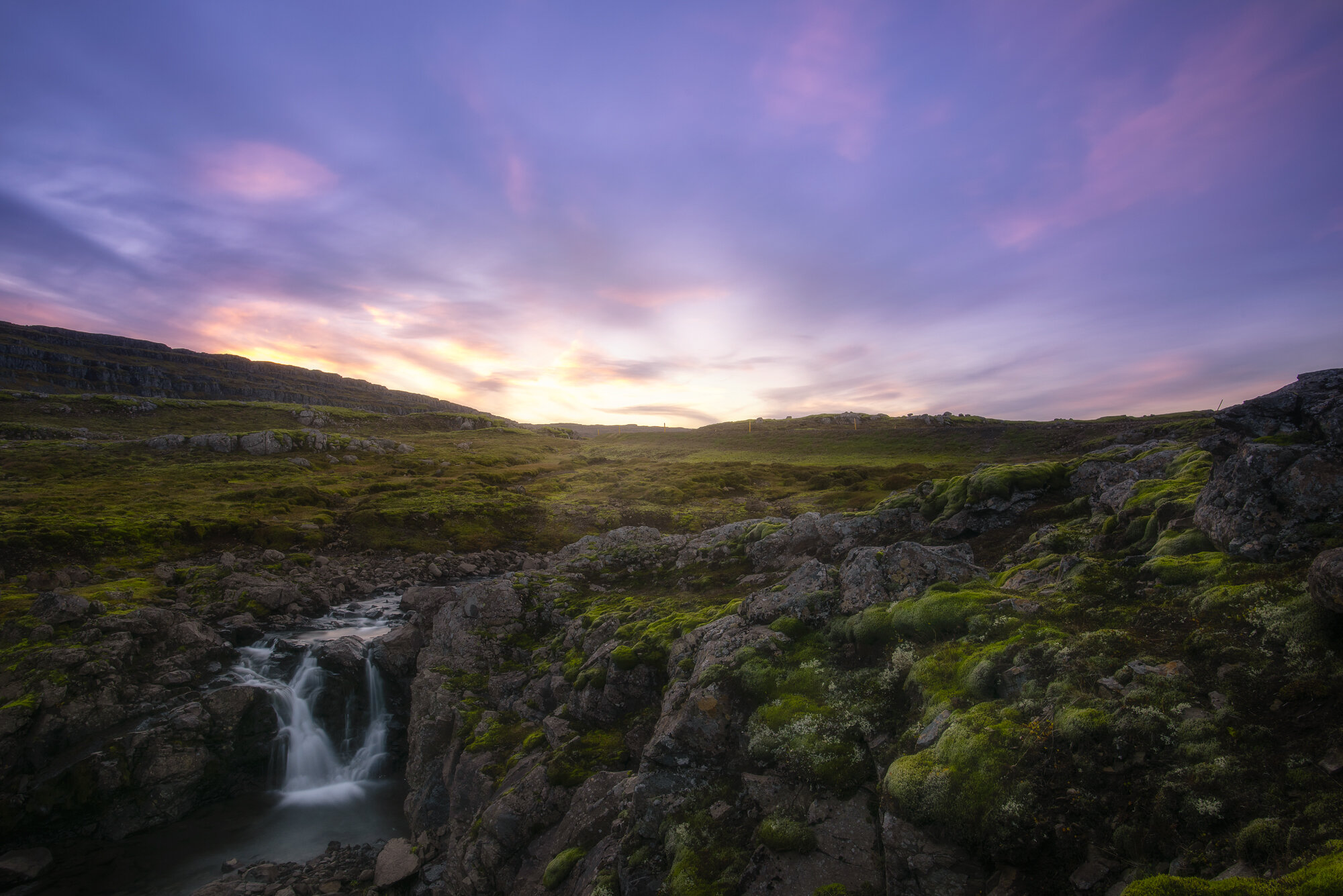 Iceland Landscape Photography: 'Oxi Pass Waterfall'