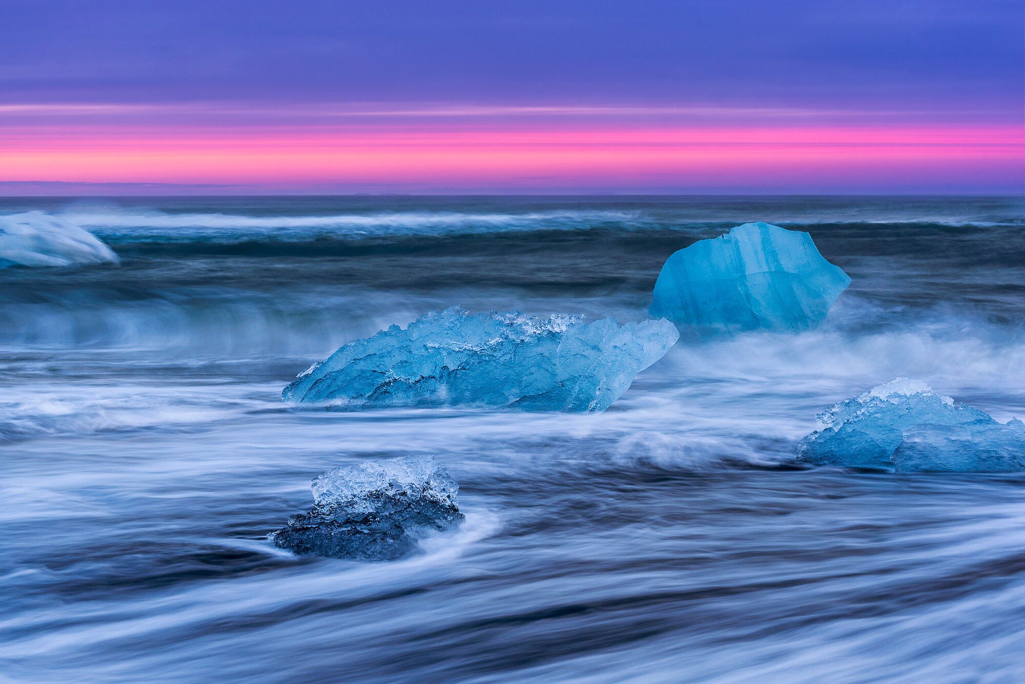Iceland Landscape Photography: 'Ice Jewels'