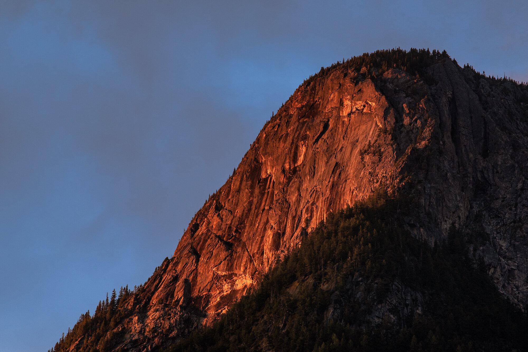 British Columbia Mountains: 'The Last Light'