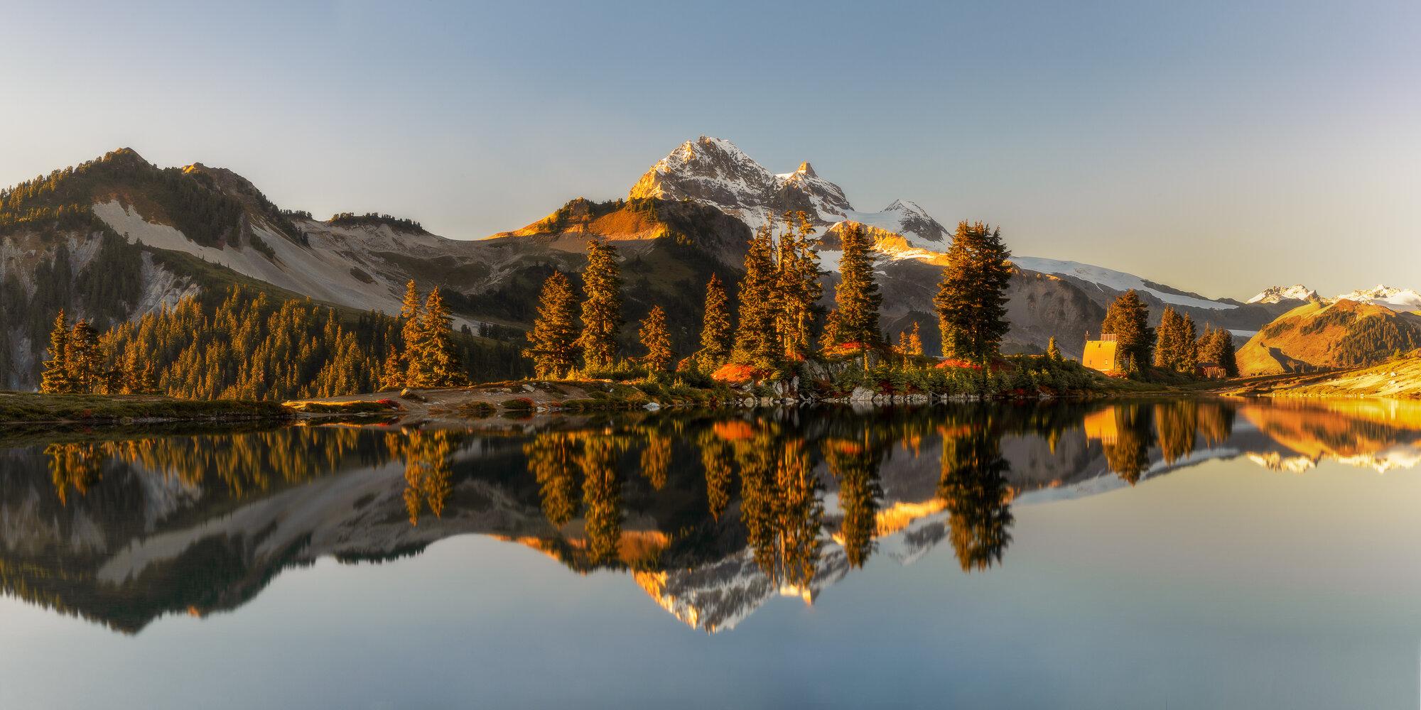 British Columbia Mountains: 'Golden Hour Magic'