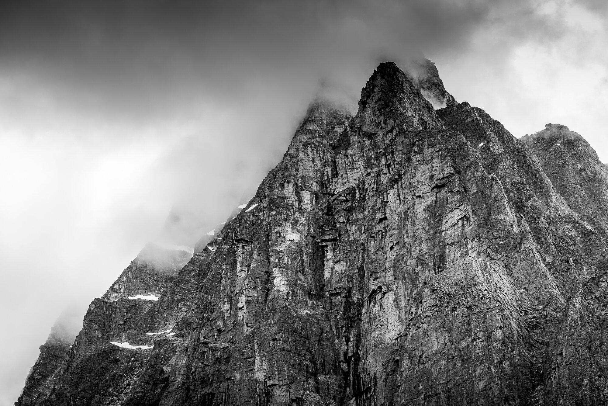 British Columbia Mountains: 'Jagged Edges'