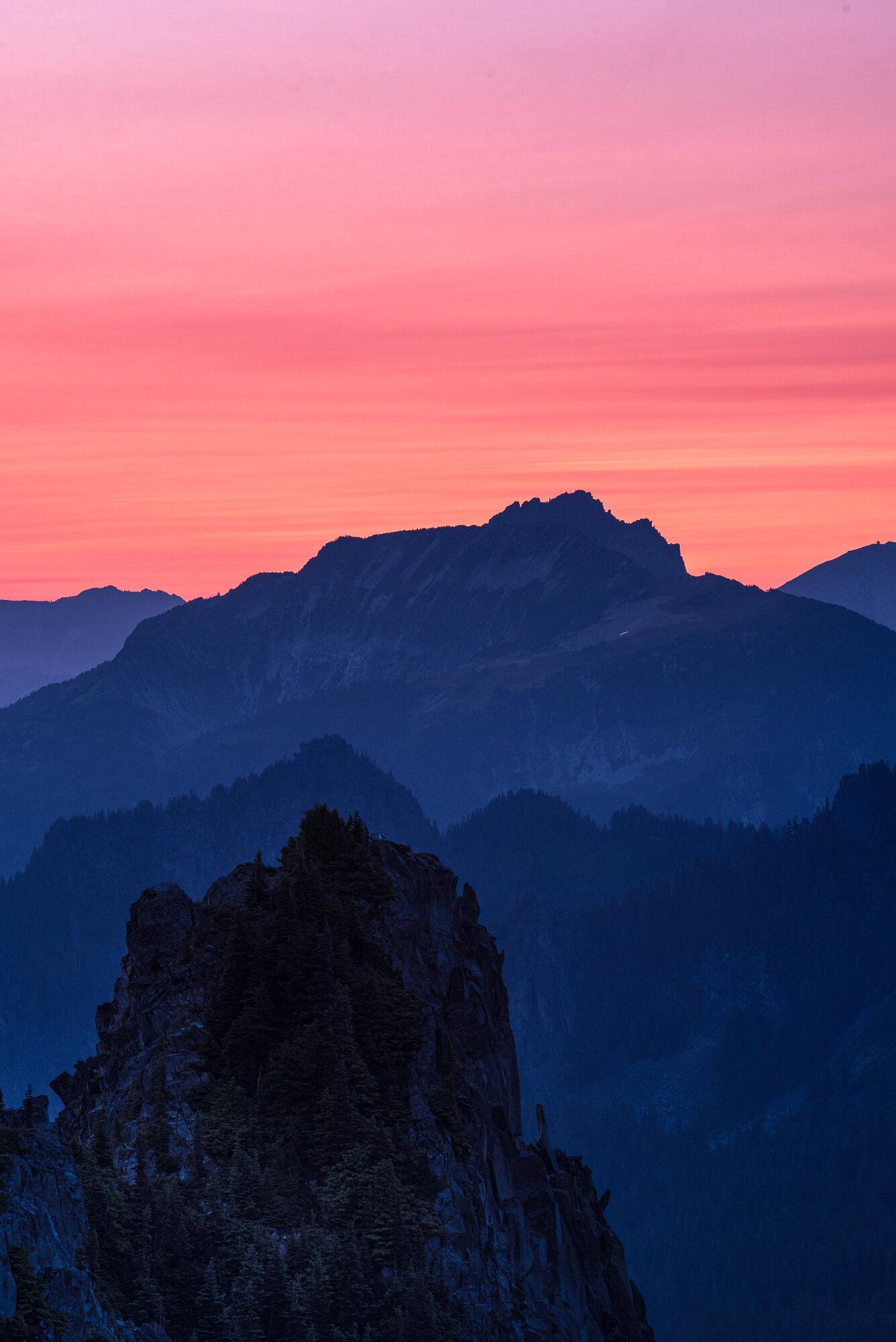 Mount Rainier Photography: 'Sunrise Layers'