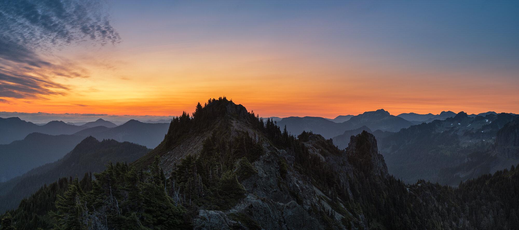 Mount Rainier Photography: 'Tolmie Layers'