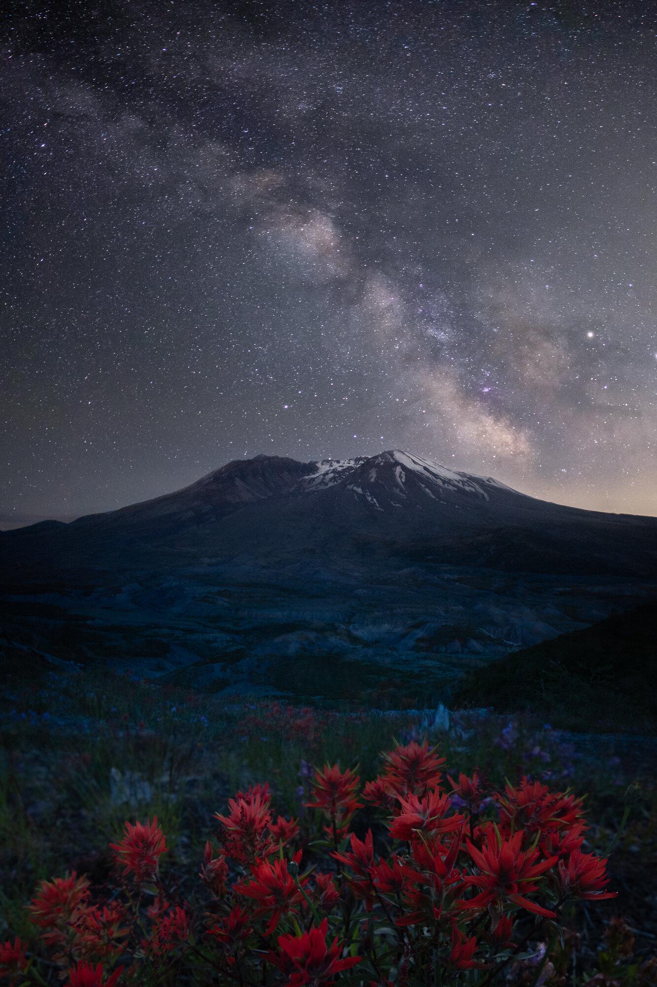 Mount St. Helens Photography: 'Volcanic Eruption'