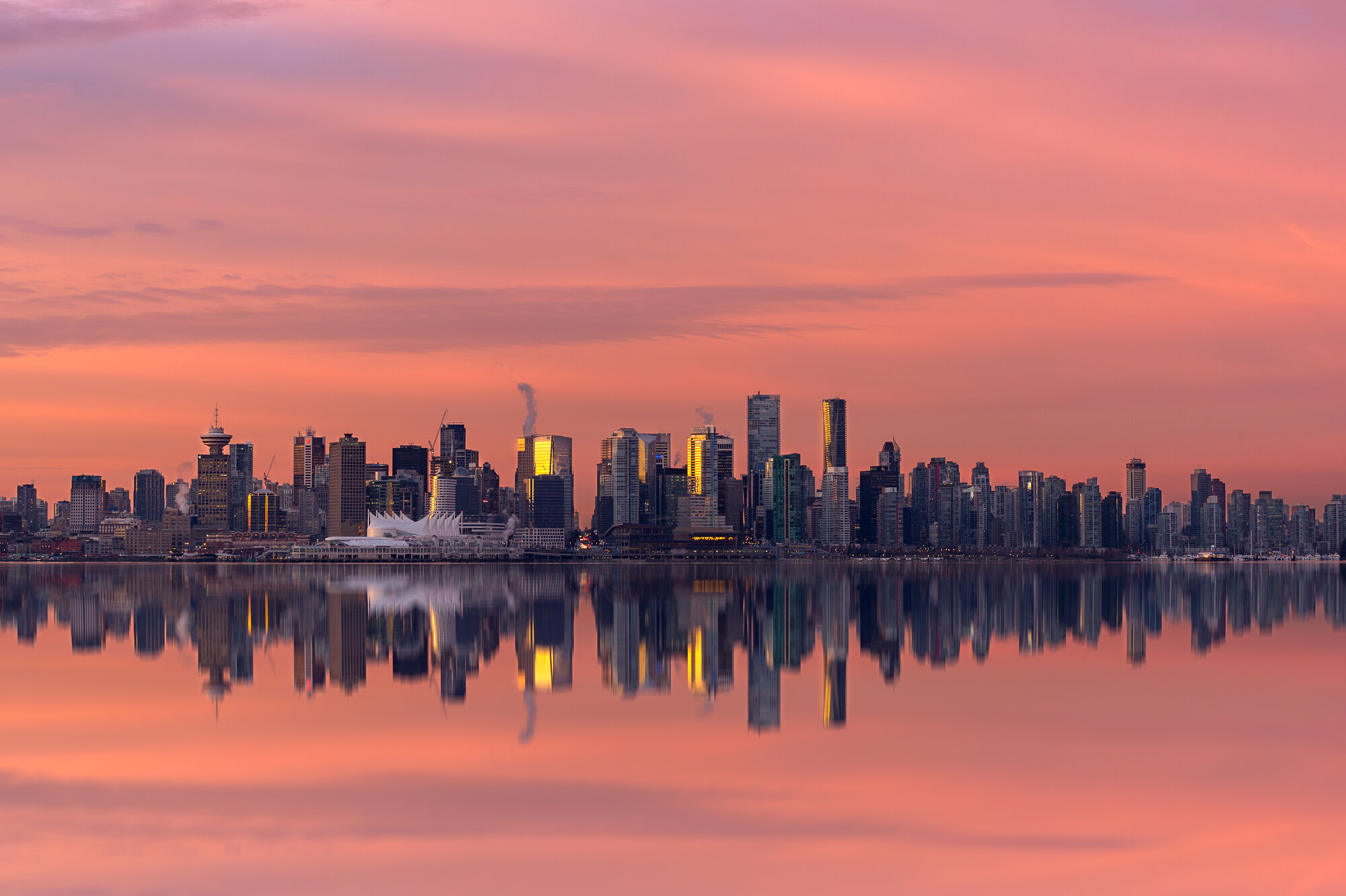 Vancouver City Photography: 'Mirrored Reflections'