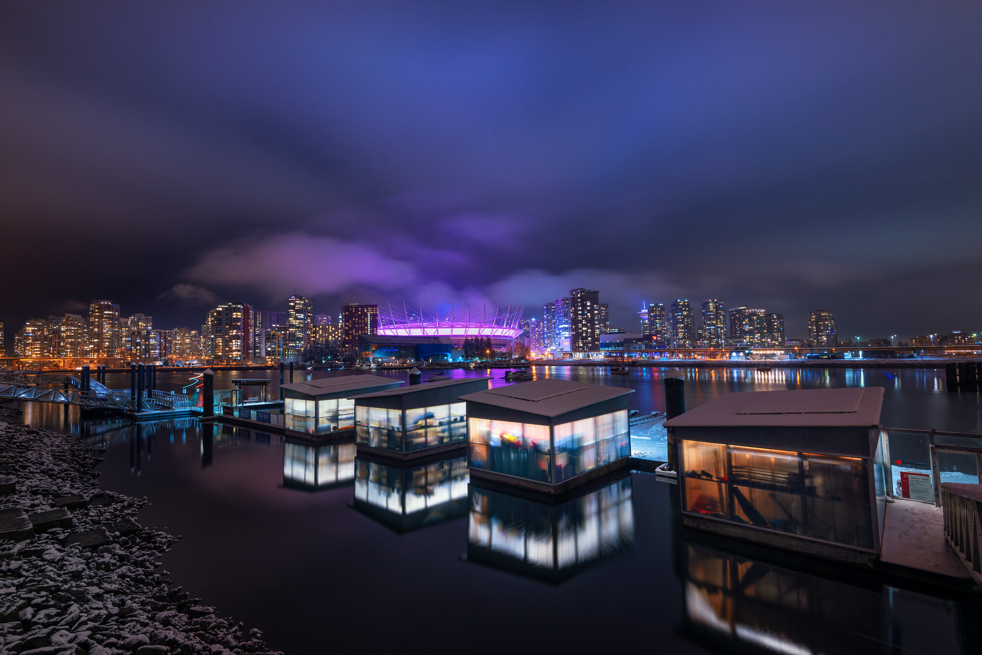 Vancouver City Photography: 'Purple Hues'