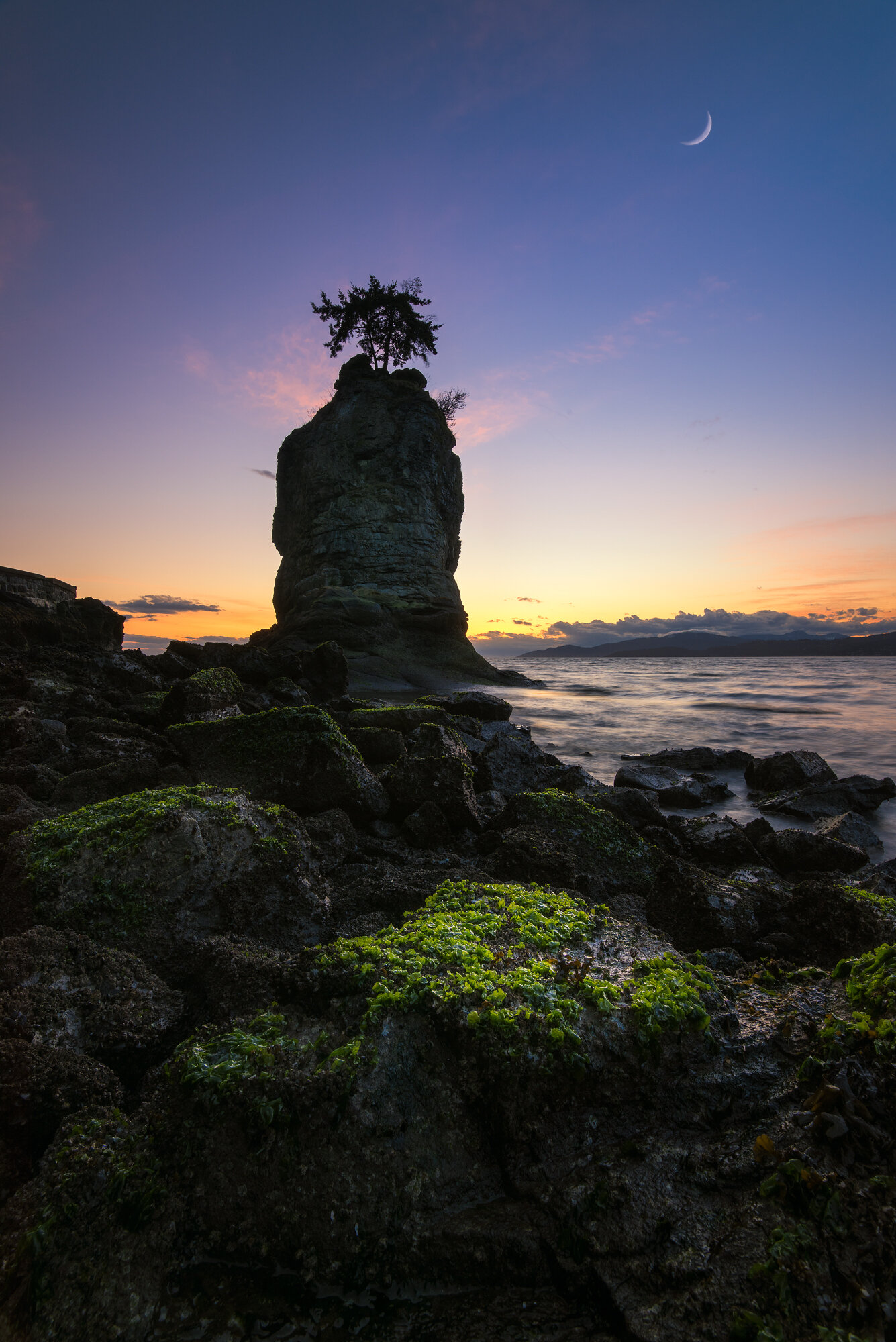 Vancouver Photography: 'Siwash Sunset