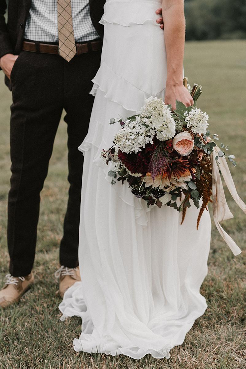 New Hampshire_Weekend Away Wedding Portrait Bride Groom