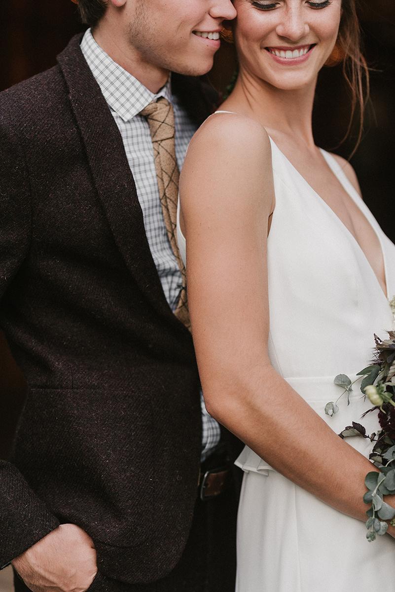 New Hampshire_Weekend Away Wedding Bride and Groom