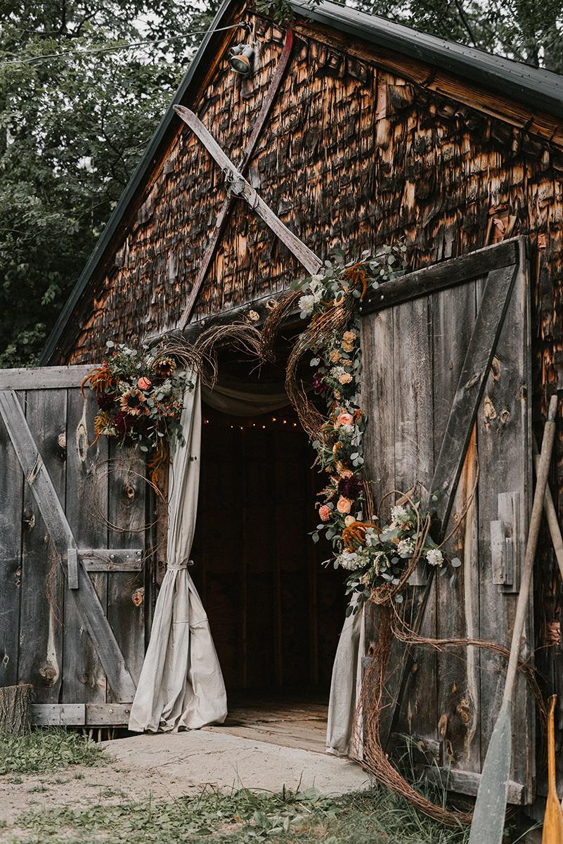 New Hampshire_Weekend Away Wedding Historic Barn