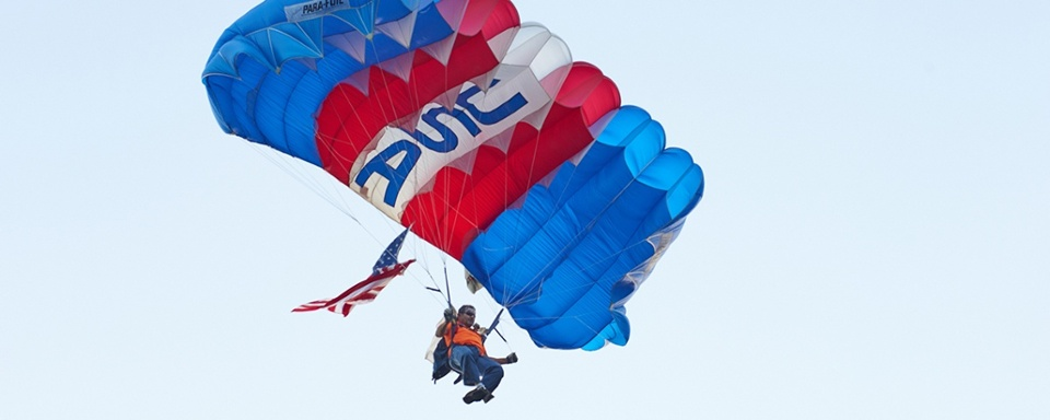 becoming a skydiving pro