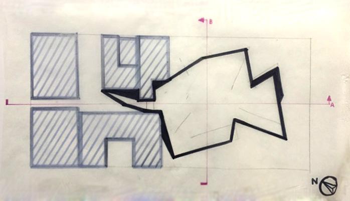 """""""Lower"""" Floor Plan Concept"""