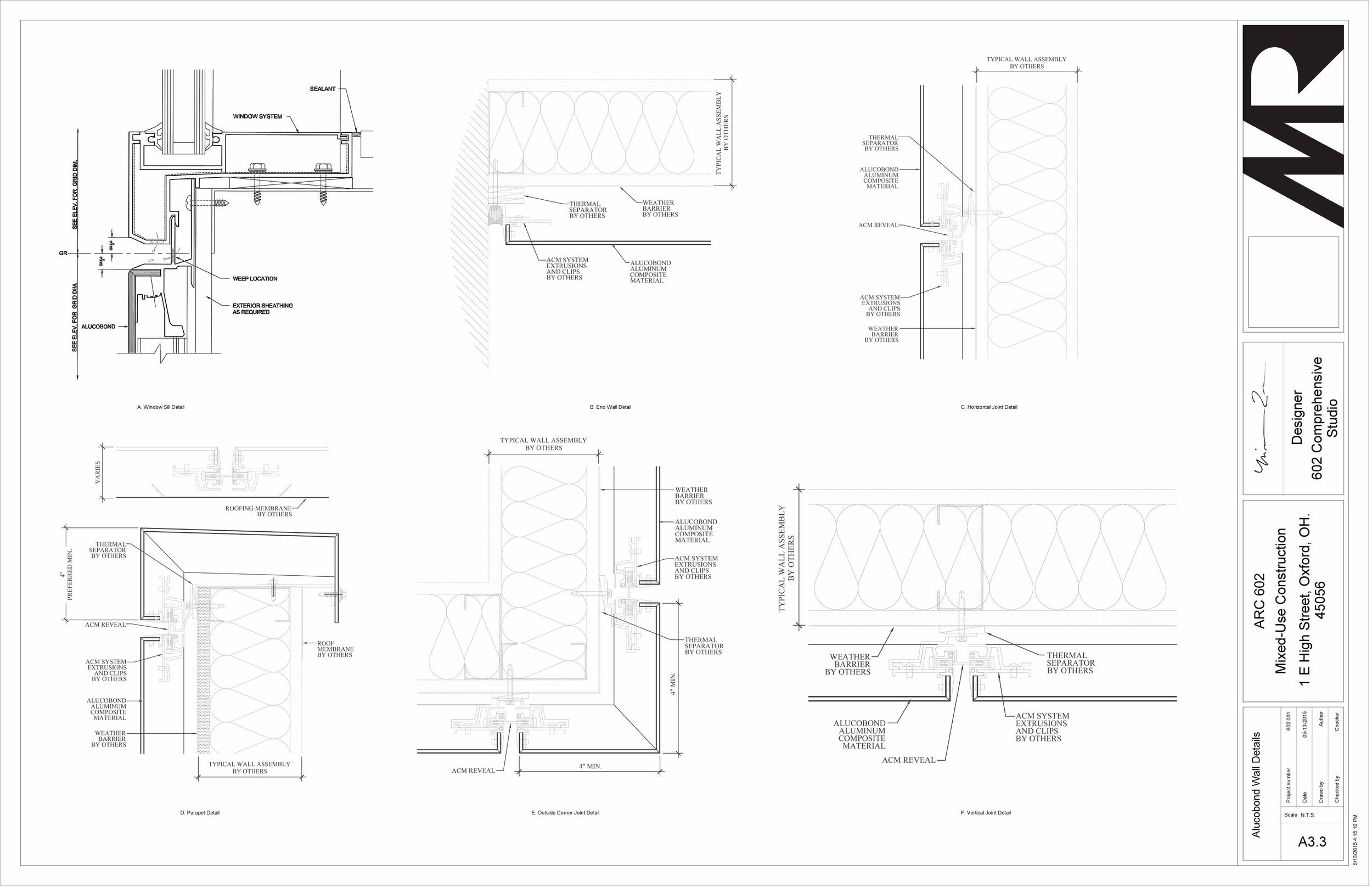 602 Studio - Sheet - A3-3 - Alucobond Wall Details.jpg
