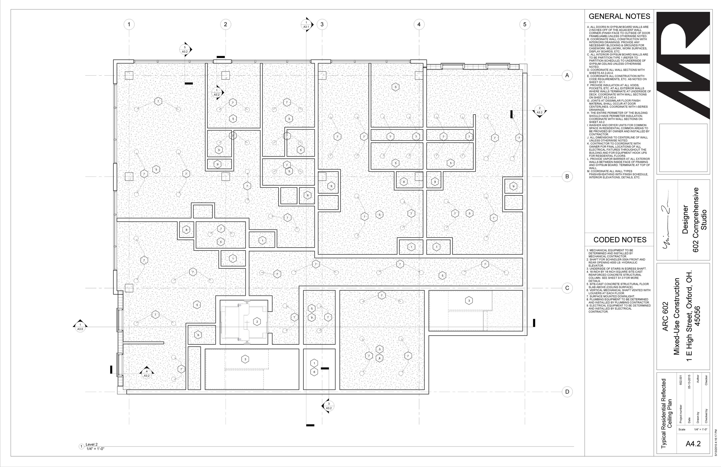 602 Studio - Sheet - A4-2 - Typical Residential Reflected Ceiling Plan.jpg