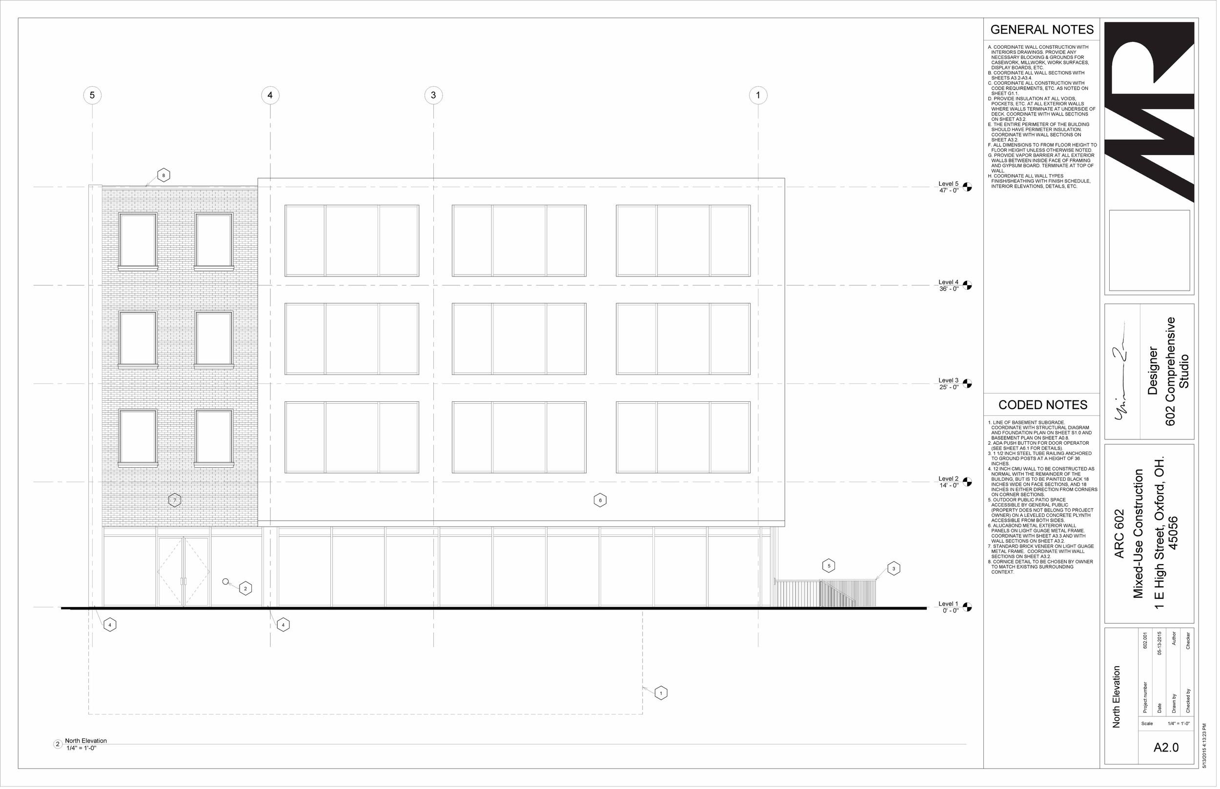 602 Studio - Sheet - A2-0 - North Elevation.jpg