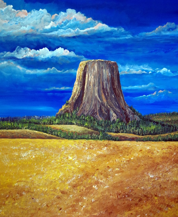 Jennifer Adams - Devils Tower
