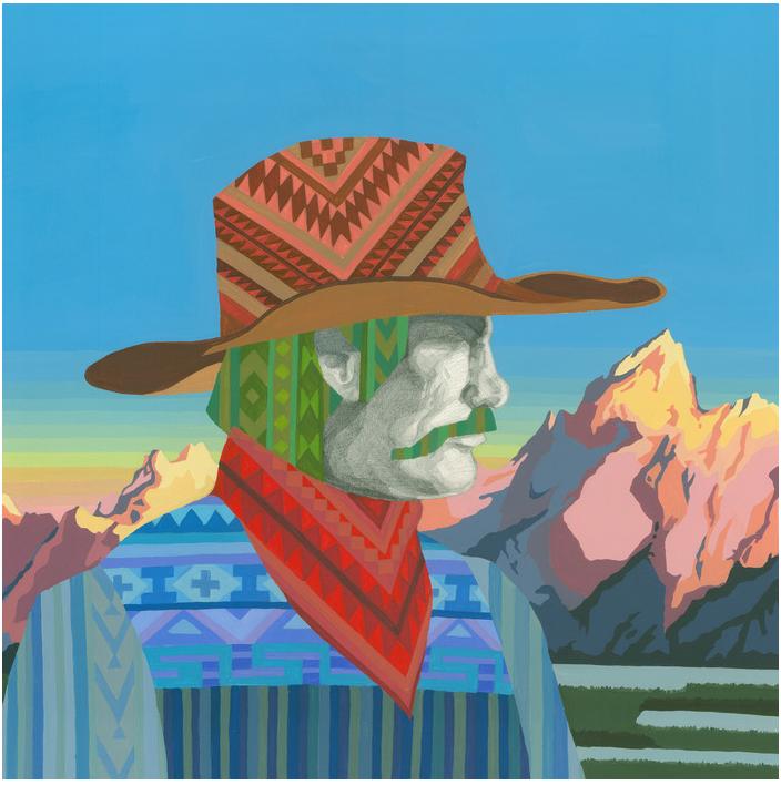 Jina Kim - Wyoming Cowboy and Grand Teton