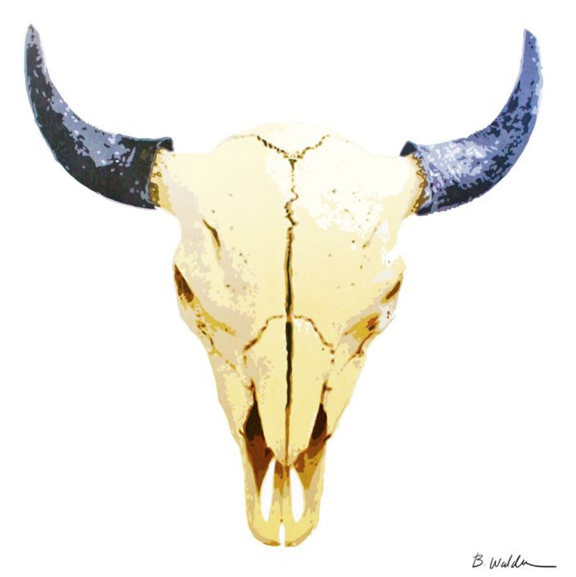Boughton Walden - Skull