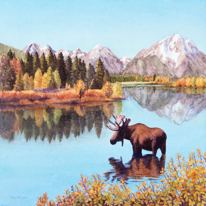 Joy Keown - Oxbow Bend Reflections