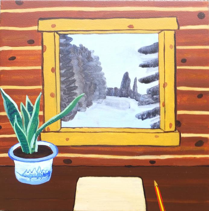 Mike Piggott - Jackson Hole Window