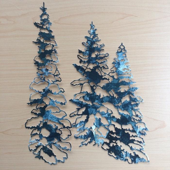 Robin Gleason - Snowy Trees
