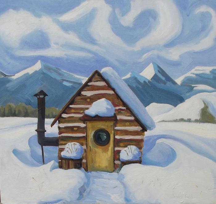Wendell Field - The Ferrier's Cabin