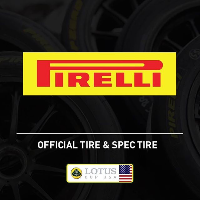 We welcome our new partner Pirelli as our Official Tire and Spec Tire for Lotus Cup USA competition. We're excited to join the Pirelli family, supporters of all levels of motorsports from F1 to Pirelli World Challenge and now Lotus Cup USA! #lotuscars #lotuscup #lotuscupusa #pirelli