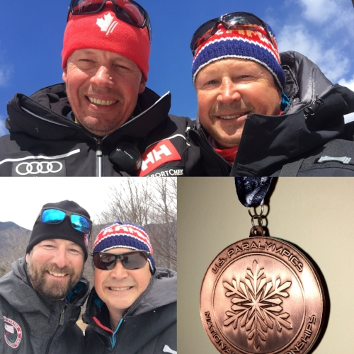 Lasse Eriksson, Ray Watkins, and Kevin Jardine - Coaches of the US and Canadian Para Alpine Ski Teams.