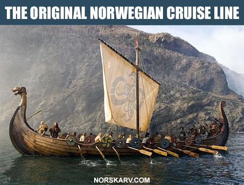 vikings ship meme original norwegian cruise line norskarv alt for norge