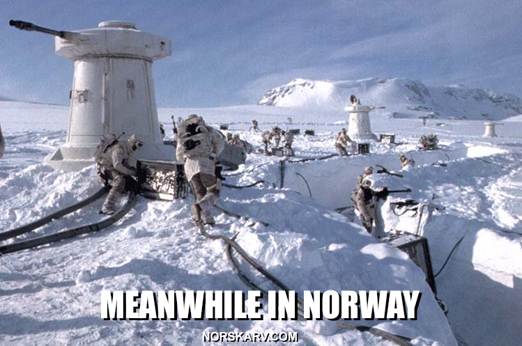 meme meanwhile in norway norskarv hoth star wars norway norwegian