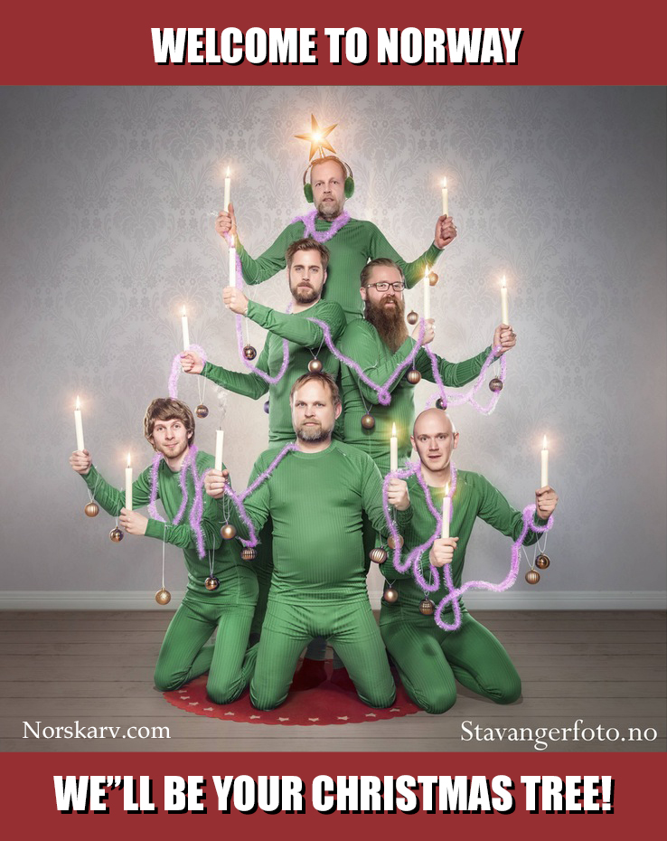 welcome to norway meme christmas tree stavanger photo norskarv norwegian norway