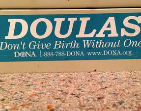 I do love my vintage office bumper sticker.