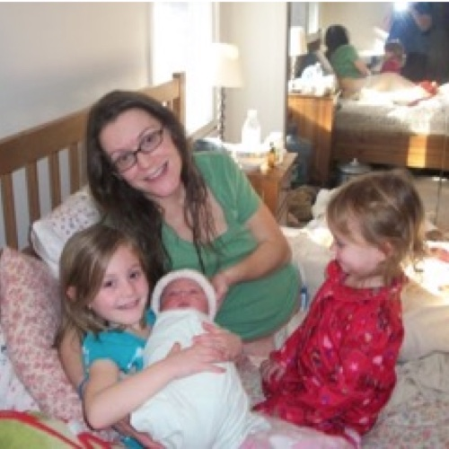 """Thank you so very much for the best care possible during my pregnancy. I loved my birth experience…"" —   Sharon"