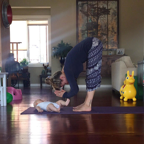 Postpartum Mommy and Me Yoga -