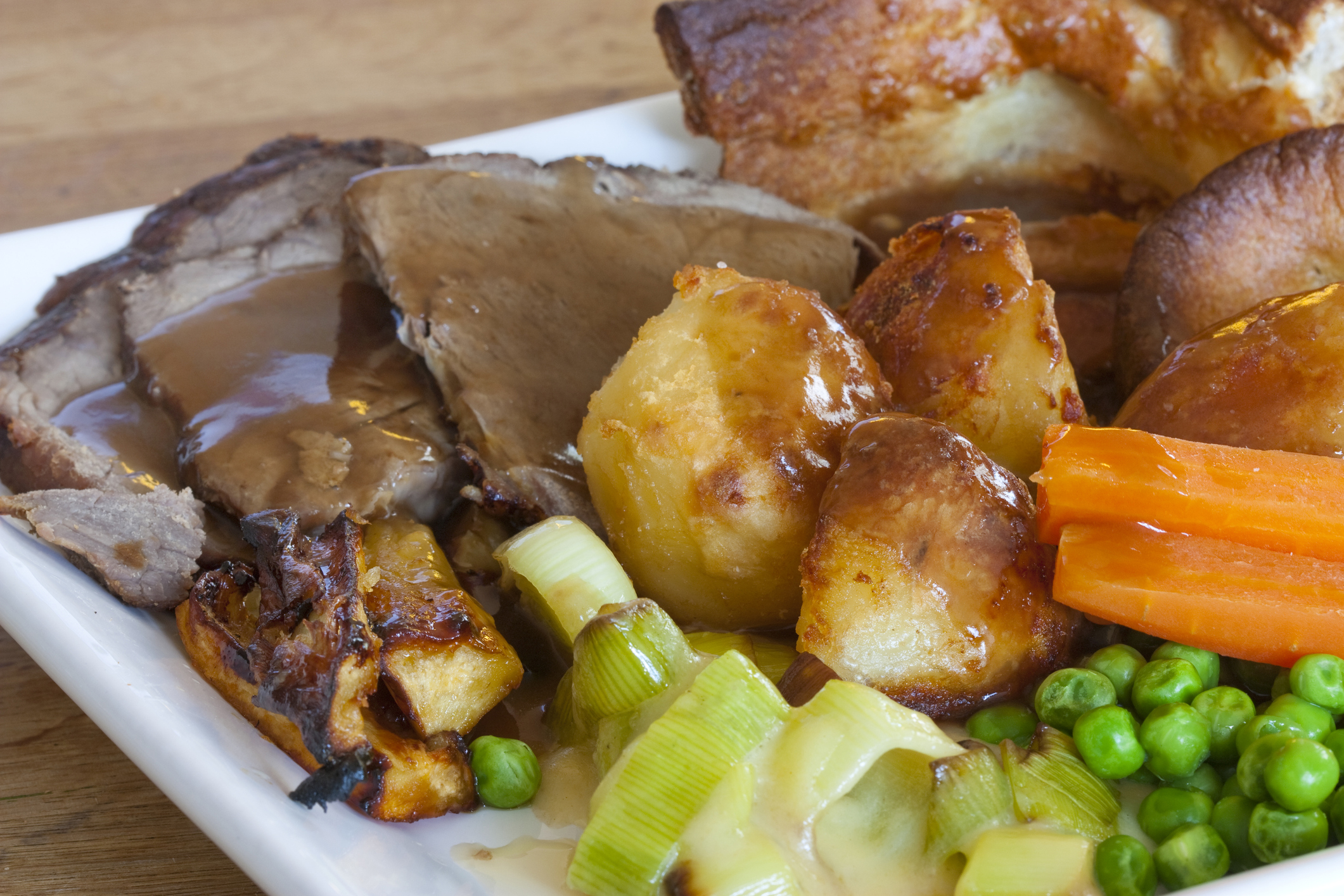 Mothers Day Sunday Roast is Beef with all the trimmings -