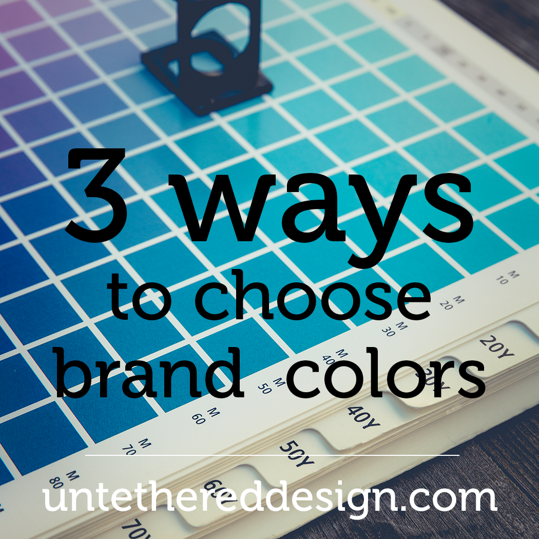 Brand Colors Untethered Design Studio