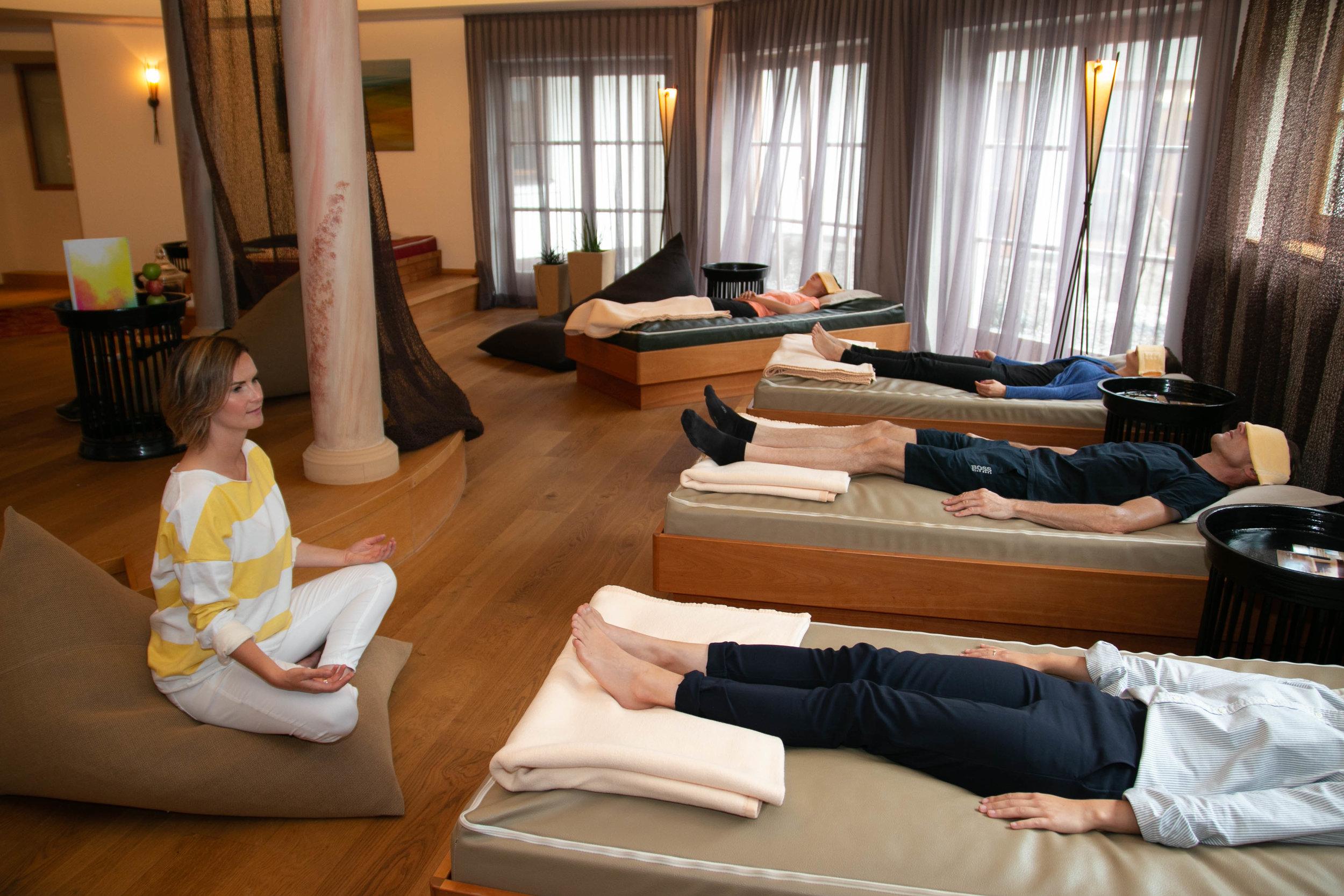 Digital Detox Meditationen - 2 Mal wöchtentlich | Seit Sommer 2018 | 5 Sterne-Spa- und Familienhotel Schlosshotel Fiss