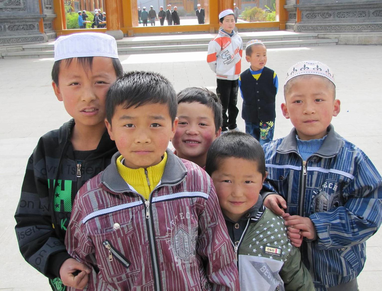 Boys in the village