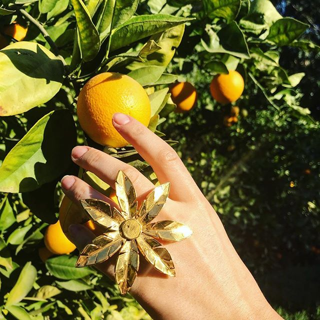 Orange picking in the city that gave this ring its name.