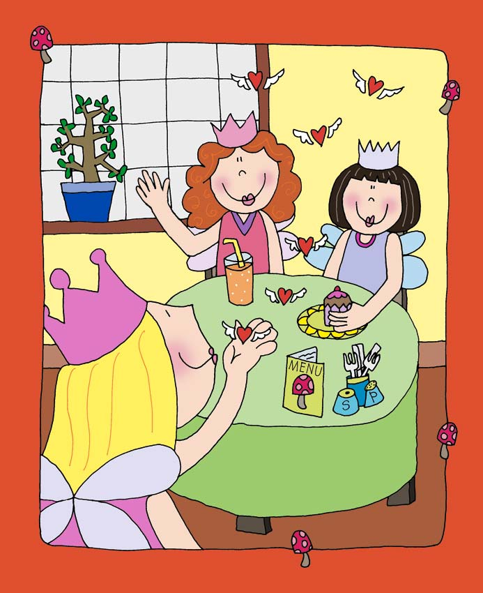 'The Tickle Misses' children's book illustration for Parragon Publishers.