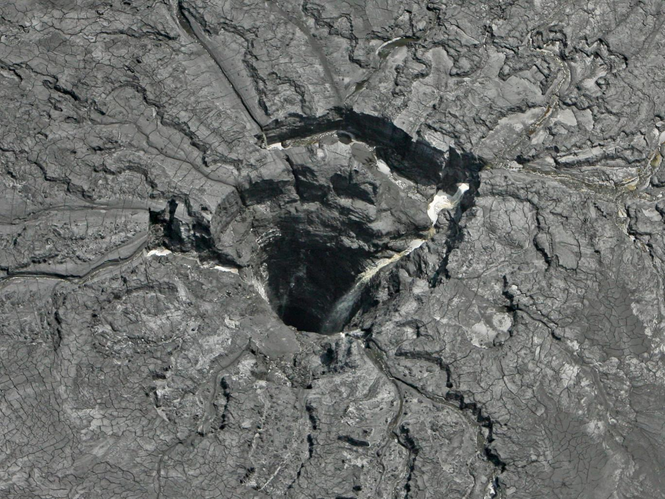 Florida Sinkhole. Source: The Independent