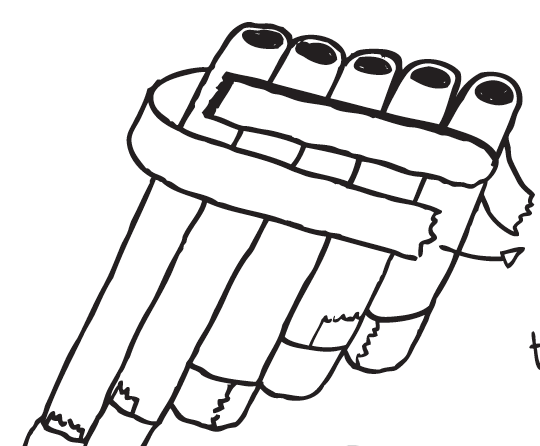 Pan pipes instructions