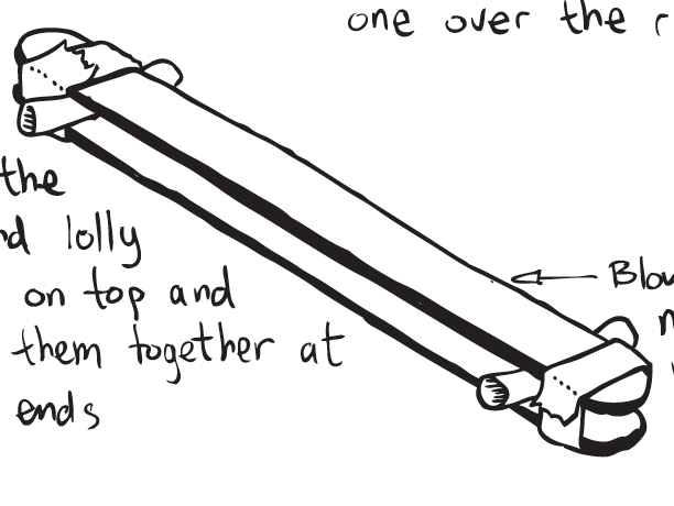 Lollypop kazoo instructions