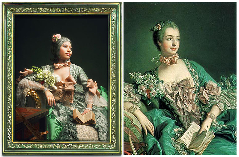 Nicki Minaj as Madame de Pompadour (Boucher)